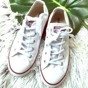 Boys Girls chuck Taylor white converse shoes 3